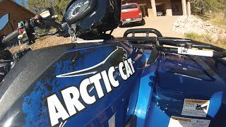 9. 2011 Arctic Cat 700 Limited- Walk Around