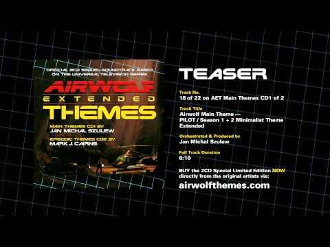 AIRWOLF CD1-18 — Airwolf Theme PILOT / Season 1 + 2 Minimalist Theme