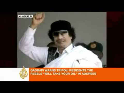 Gaddafi Tripoli residents must cleanse Libyan capital www keepvid com