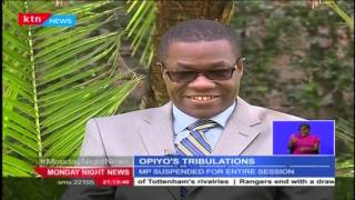 One On One With Suspended Ugunja MP Opiyo Wandayi On Life Outside Of Parliament