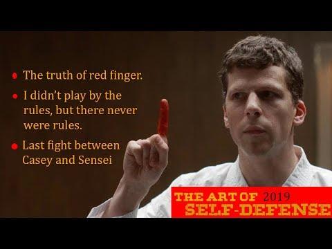Casey vs Sensei, Emotional Movie Clip, The Art of Self-Defense 2019 Last Scene