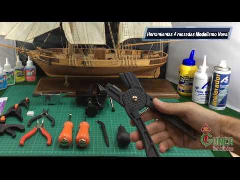 Herramientas Avanzadas Modelismo Naval - www.hobbiesguinea.es