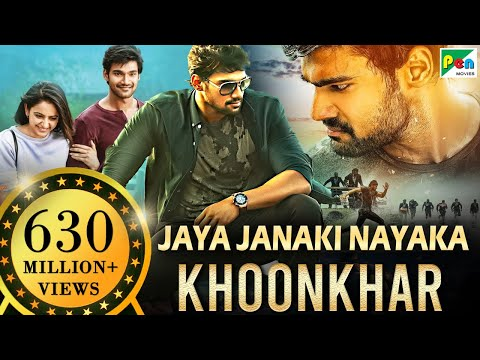 Download Jaya Janaki Nayaka KHOONKHAR | Full Hindi Dubbed Movie | Bellamkonda Sreenivas, Rakul Preet Singh HD Mp4 3GP Video and MP3