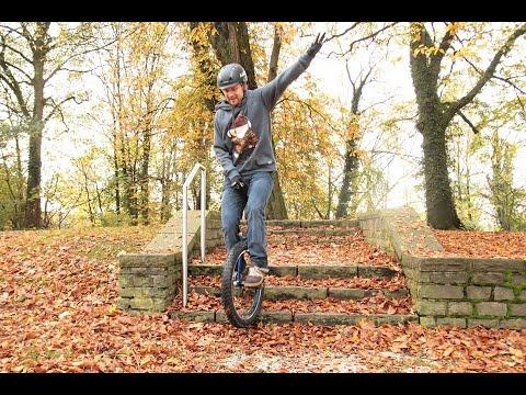 Einradfahren lernen / Municycle mit Marc von fahrtechnik.tv