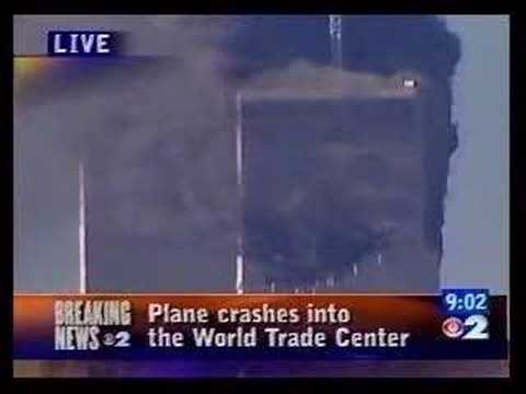 911 - This segment is comprised of a succession of newscasts that feature the impact of Flight 175 into the South Tower as it happened LIVE at 9:03 AM. This segmen...