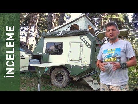 CRAWLER KARAVAN İNCELEME (Offroad ve Camping Ekipmanları)