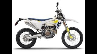 7. The four-model line of 2019 Husqvarna Dual Sport Motorcycles | FE 250, FE 350, FE 450, and FE 501