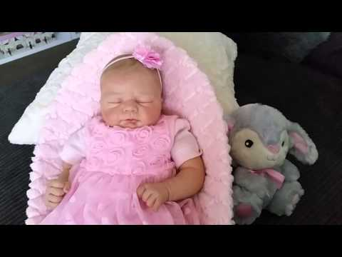 Video Christina'sReborns - Gorgeous Reborn baby Ivy pretty in pink! download in MP3, 3GP, MP4, WEBM, AVI, FLV January 2017