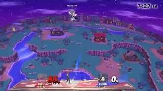 Sonic tries to sacrifice himself only to let ZSS survive in this funny match moment