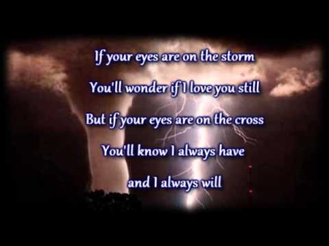 Just Be Held   Casting Crowns   Worship Video with lyrics