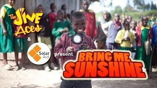 This video will make you happy, make you smile. Bring Me Sunshine by the Jive Aces and SolarAid