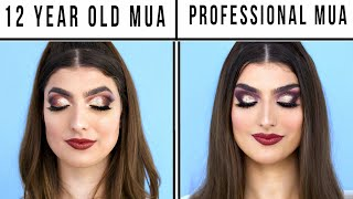 12 Year Old Makeup Artist Vs. Professional Makeup Artist by RCLBeauty101