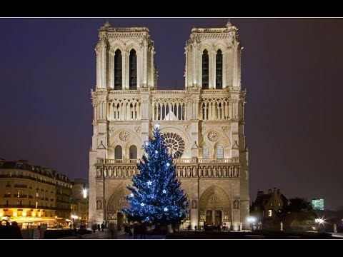 Christmas service at Notre Dame cathedral