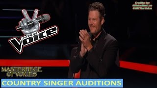 Video BEST COUNTRY SINGER AUDITIONS ON THE VOICE MP3, 3GP, MP4, WEBM, AVI, FLV Juli 2018