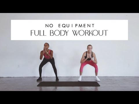 NO EQUIPMENT REAL TIME MODEL WORKOUT