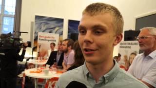 NÆSTEN LIVE: Jagten på de unge Kristendemokrater