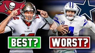 The 5 WORST Offenses In The NFL RIGHT NOW… And The 5 BEST (2020) by Total Pro Sports