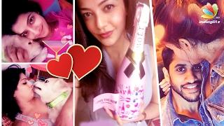 Here's how celebrities are celebrating Valentine's Day 2017 | Varalakshmi, Samantha, Kajal Agarwal