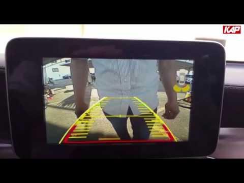 Mercedes-Benz GLC 2015 HDMI interface (PAS/PDC/Mirroring)