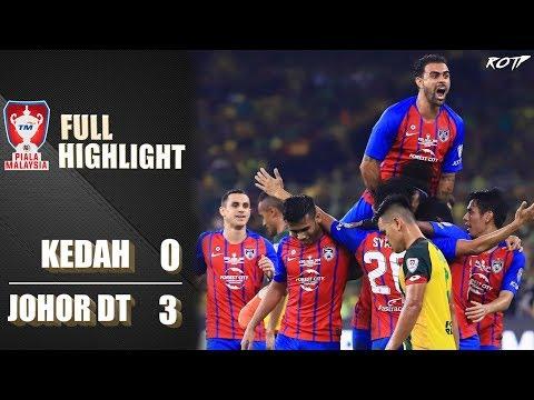 Kedah FA 0 - 3 Johor DT (Highlight HD - Final Piala Malaysia - 2/11/2019)