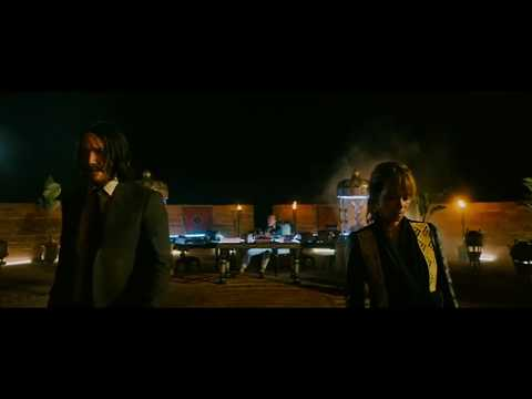John wick 3|dog fight scene|2019|