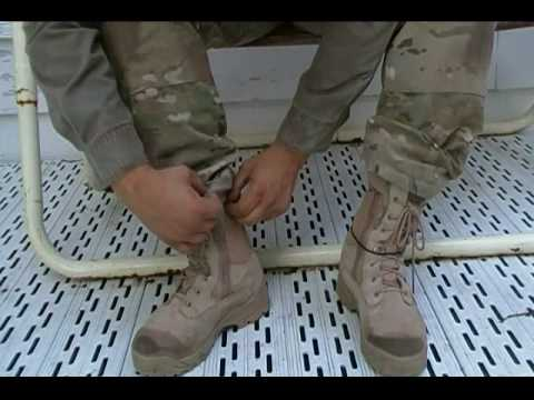 Blousing Tacitcal Pants and boots with TGO