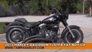 10. 2012 Harley Davidson FatBoy Lo  - Used Motorcycles for sale in Texas