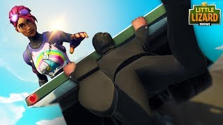 A GIRL SAVES JOHN WICK!! *RAPTOR FALLS IN LOVE*  Fortnite Short Film