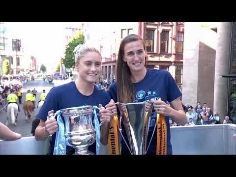 Live | Man City victory parade after winning the Premier League |Soccer Update