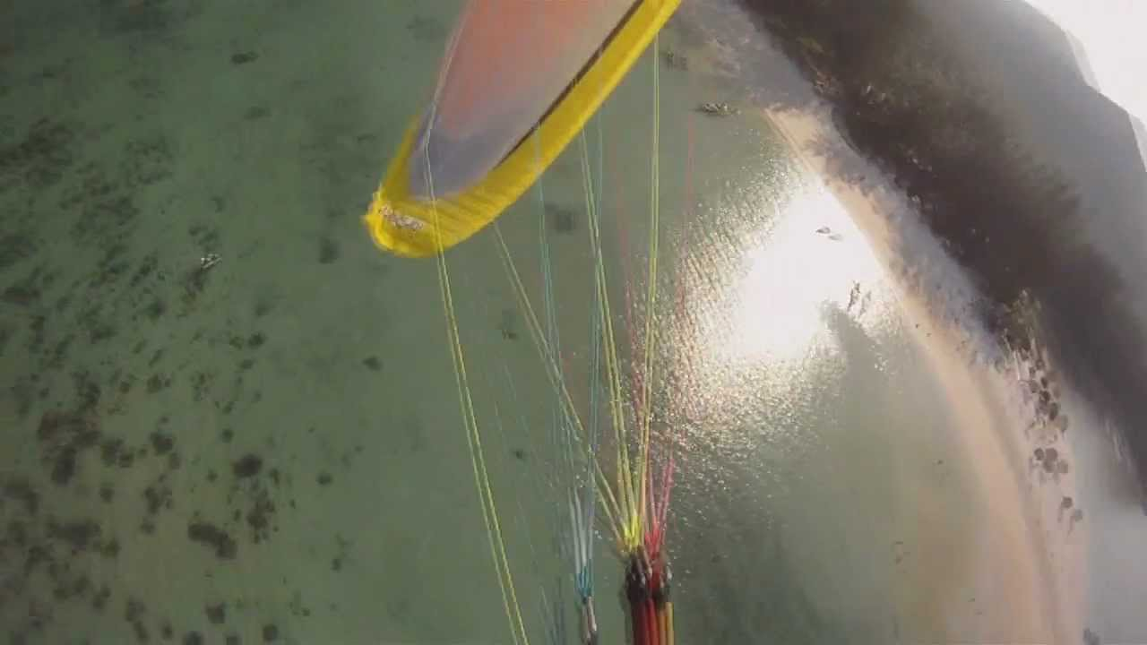 Paramotor flying in Thailand: koh phangan