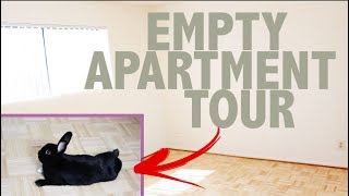EMPTY APARTMENT TOUR by Lennon The Bunny