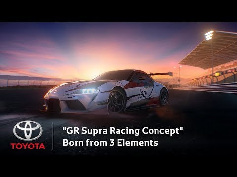 """GR Supra Racing Concept"" Born from 3 Elements"