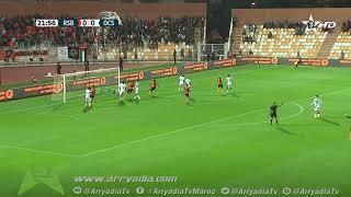 نهضة بركان 1-0 أولمبيك آسفي هدف محمد عزيز في الدقيقة 22.