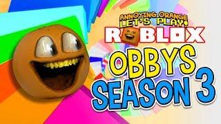 Roblox Obbys - Season #3 [Annoying Orange Gaming]