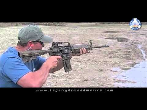 Slo-mo AR-15 failure in mud