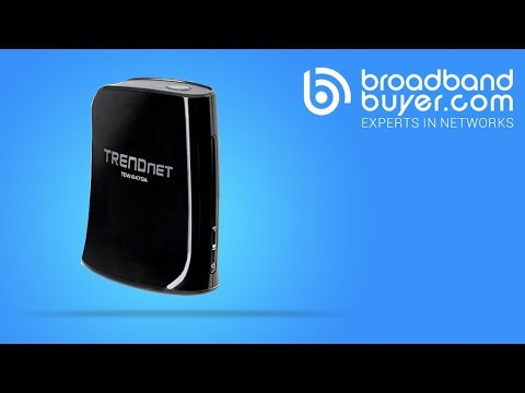 TRENDnet TEW-647GA Wireless-N Gaming Adapter 300Mbps