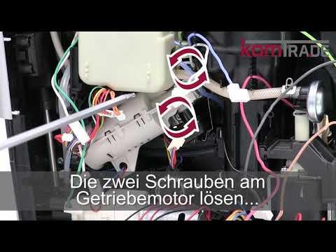 Jura A-Serie Antrieb-Getriebe-Motor ausbauen-ersetzen-tauschen-einbauen