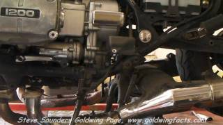 9. Honda GL1200 Goldwing Engine Removal