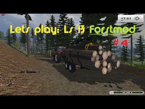Lets play: Ls 13 Forst Mod/Map | #4 | überladener, fliegender Holzanhänger :D