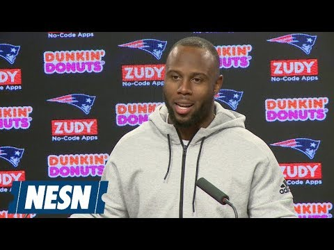 Video: James White Patriots vs. Bills Week 8 Wednesday Press Conference