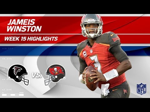 Video: Jameis Winston Goes 27 for 35 w/ 299 Yds & 3 TDs! | Falcons vs. Buccaneers | Wk 15 Player Highlights