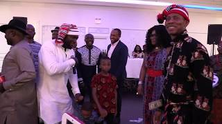 Abia state dance at the 2019 cultural Night in Toronto