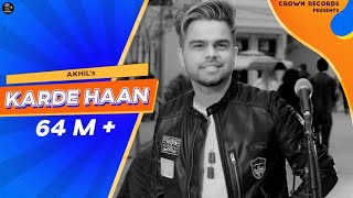 Video Karde Haan | AKHIL | Manni Sandhu | Official Video | Collab Creation | New Punjabi songs 2019 MP3, 3GP, MP4, WEBM, AVI, FLV Maret 2019