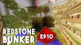 Let's Build: REDSTONE BUNKER EP10 - Underground Forest (Final Episode)