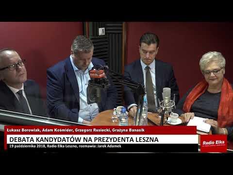 Wideo1: Debata kandydatów na prezydenta Leszna