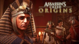 ►► Select 2160p HD for Best Quality ◄◄Watch the Assassin's Creed Origins Game of Power Trailer and witness the growing struggle between powerful figures such as Cleopatra, Julius Caesar and the Pharaoh of Egypt, Ptolemy XIIIJourney into Ancient Egypt, the most mysterious place in history, during a crucial period that will shape the world. Discover the secrets behind the Great Pyramids, forgotten myths, the last pharaohs, and – engraved in long-lost hieroglyphics – the origin story of the Assassin's Brotherhood.For the last four years, the team behind the acclaimed Assassin's Creed® IV Black Flag® has been focused on crafting a new beginning for the franchise. Fight in a completely new way where you transition seamlessly between unique ranged and melee weapons, and take on multiple enemies at once. Choose your Assassin skills while exploring the full country of Ancient Egypt, engaging in multiple quests and gripping stories along a journey that will change civilization.FEATURES:Experience the Mysteries of Ancient Egypt – Uncover lost tombs, explore the Great Pyramids, and discover the secrets of mummies, the gods, and the last pharaohs.An Origin Story – Start here, at the very beginning, with the never-before-told origin story of Assassin's Creed. You are Bayek, protector of Egypt, whose personal story will lead to the creation of the Assassin's Brotherhood.Embrace Action-RPG – Experience a completely new way to fight as you loot and use a variety of weapons with different characteristics and rarities. Enjoy deep RPG progression mechanics, choose your preferred abilities, and challenge your skills against unique and powerful bosses.Each Quest is a Memorable Adventure – Pick and tackle quests at your own pace: each of them tells an intense and emotional story full of colorful characters and meaningful objectives.Explore a Full Country – From deserts to lush oases, from the Mediterranean Sea to the tombs of Giza, fight your way against dangerous factions and wild beast