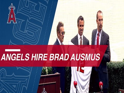 Video: The Angels introduce Brad Ausmus as their new skipper