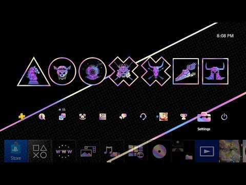 PlayStation 2019 Wrap-up Dynamic Theme PS4