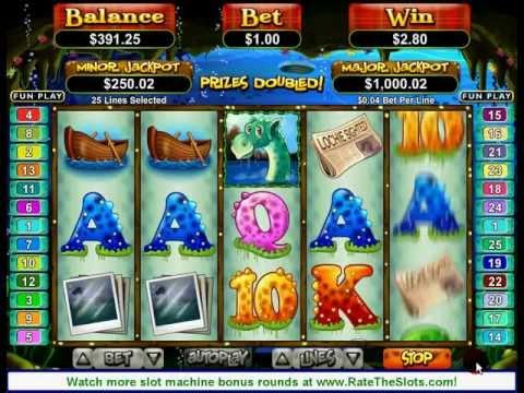 Loch Ness Loot Slot Machine Bonus Round