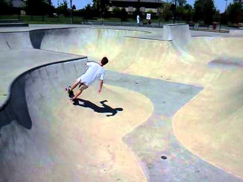 Penny Boarding at Folsom Skatepark